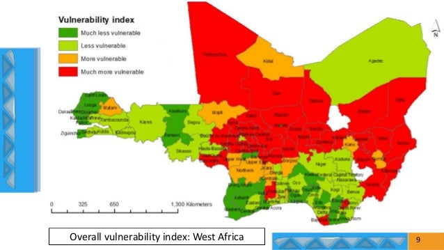 9 Overall vulnerability index: West Africa
