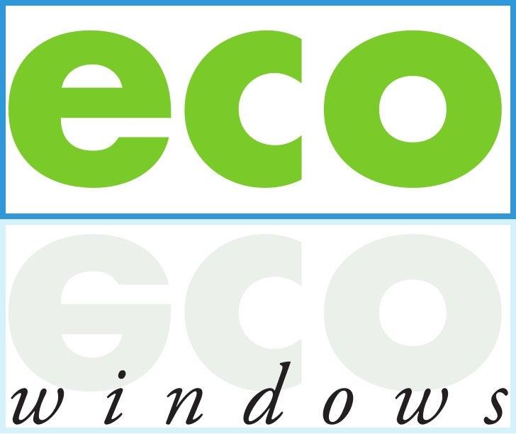 eco oce windows