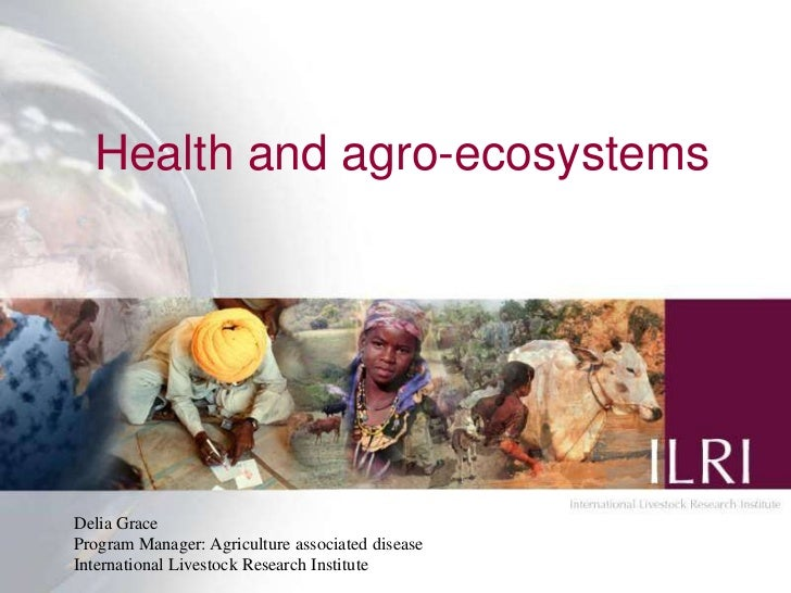 Health and agro-ecosystemsDelia GraceProgram Manager: Agriculture associated disease                                      ...