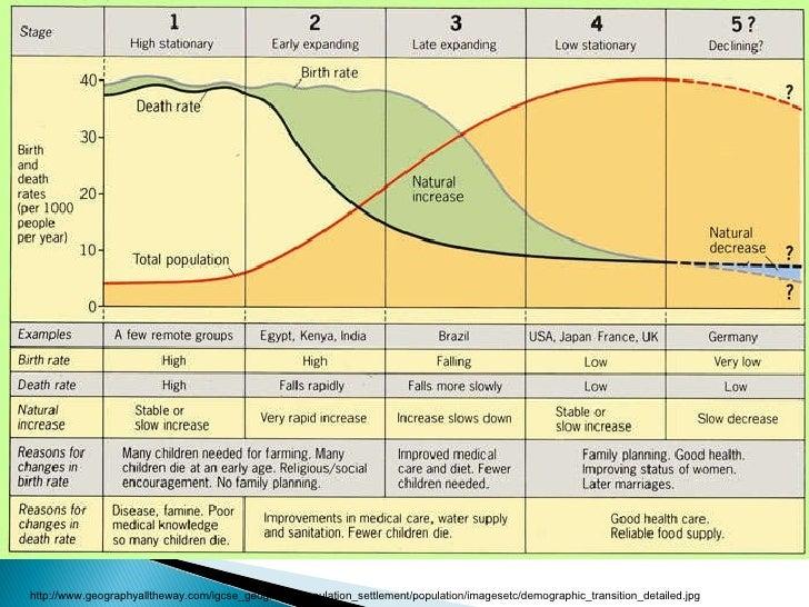 define the demographic transition
