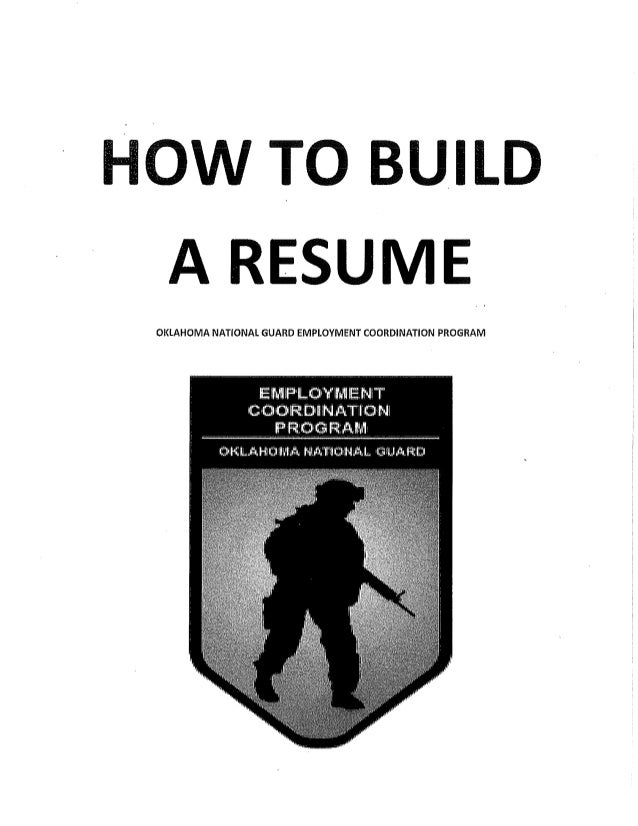 Ecp How To Build A Resume