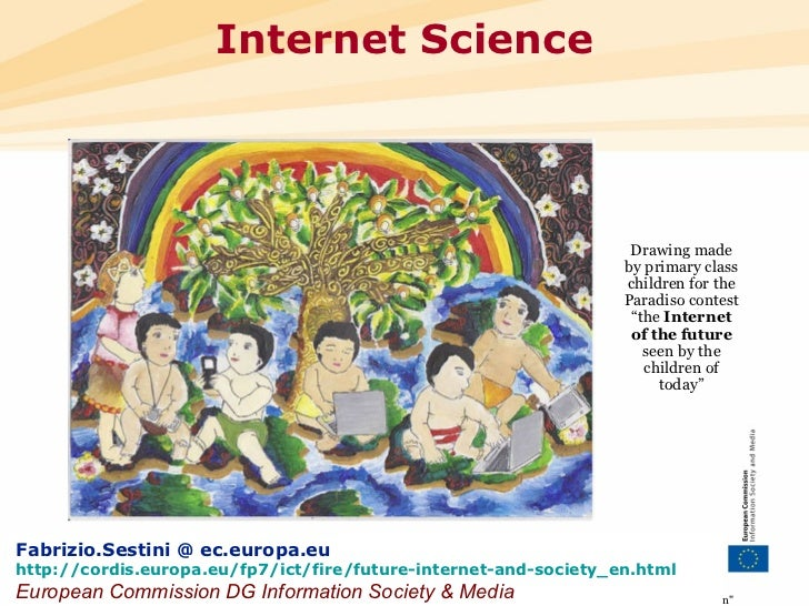 "•••  Internet Science ""The views expressed in this presentation are those of the author and do not necessarily reflec..."