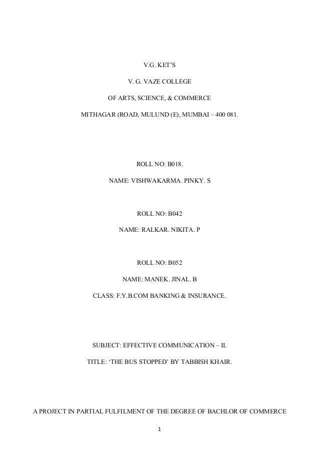 V.G. KET'S                         V. G. VAZE COLLEGE                    OF ARTS, SCIENCE, & COMMERCE            MITHAGAR ...