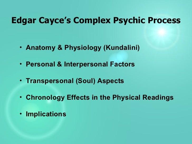 Edgar Cayce's Psychic Process
