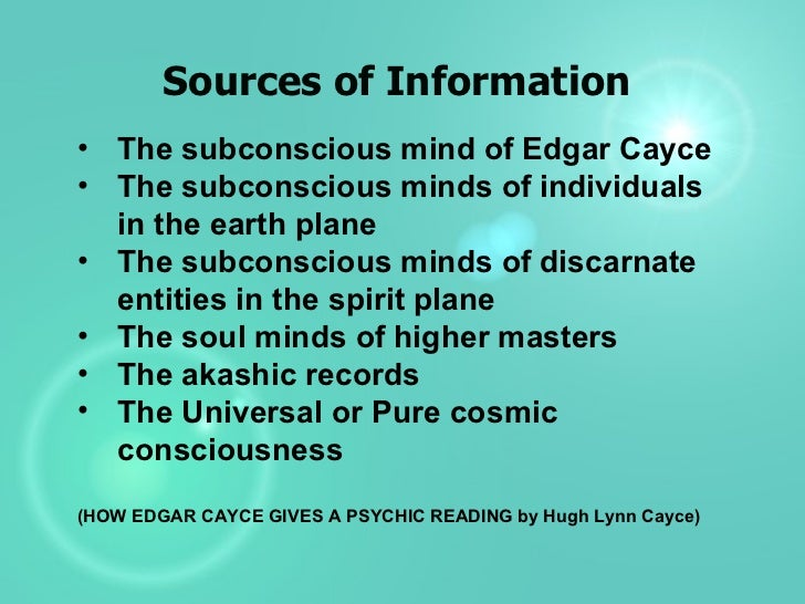 Edgar Cayce Difference Between Soul And Spirit