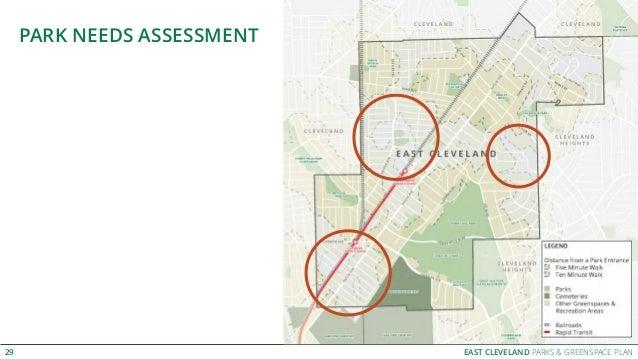 EAST CLEVELAND PARKS & GREENSPACE PLAN PARK NEEDS ASSESSMENT 29
