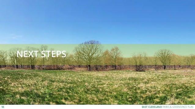 EAST CLEVELAND PARKS & GREENSPACE PLAN NEXT STEPS 55