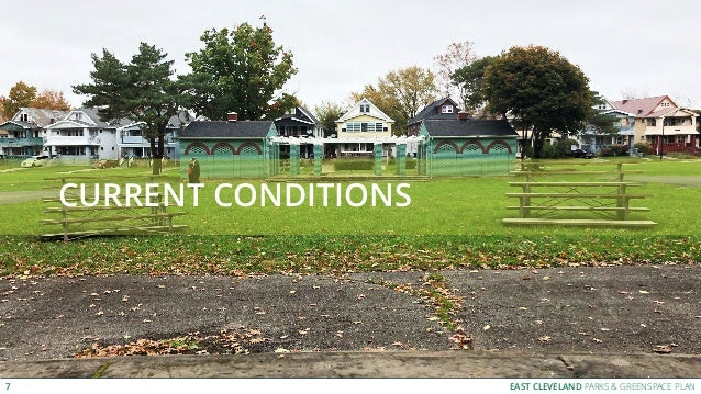 EAST CLEVELAND PARKS & GREENSPACE PLAN CURRENT CONDITIONS 7