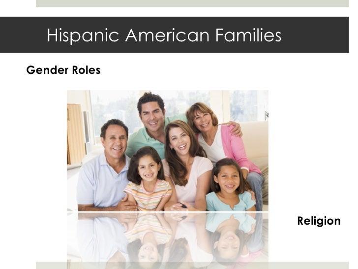 Hispanic American Families Gender Roles Religion