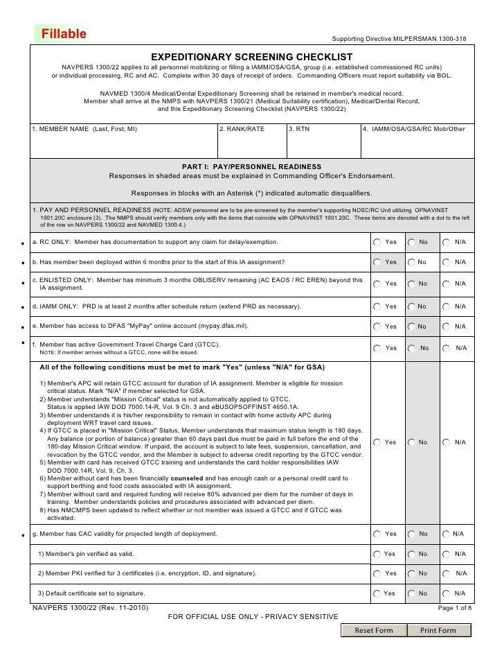 Ecrc Checklist Nov 2010