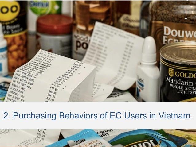 2. Purchasing Behaviors of EC Users in Vietnam.