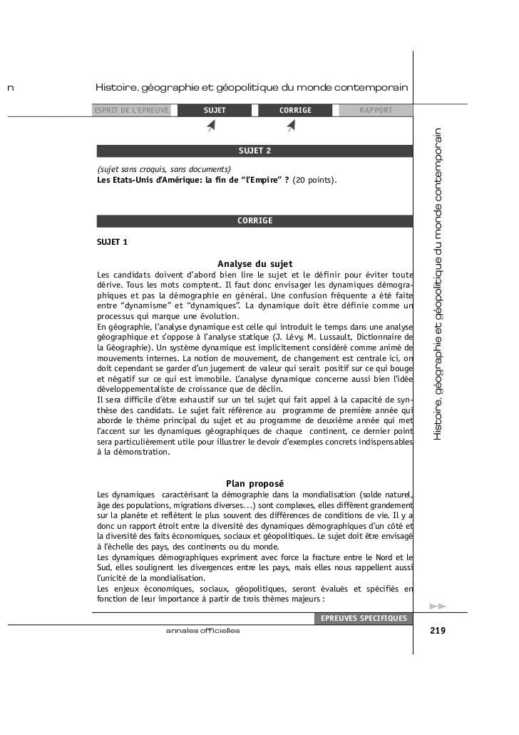 M thodologie de dissertation Histoire g ographie Francis