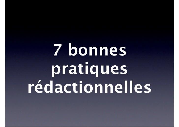 5    7 règles rédactionnelles pour le Web    Rédiger des titres    informatifs    Hors contexte, il ny a pas de salut :   ...
