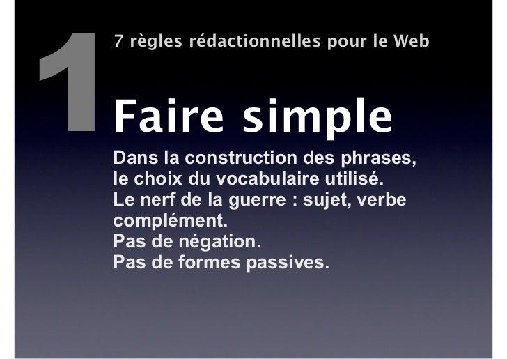 6    7 règles rédactionnelles pour le Web    Actualiser    et réactualiser    Réactivité et qualité sont les meilleurs    ...