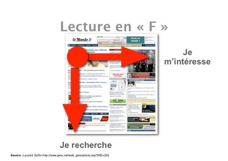 Lecture en « F »                                                                                Je                        ...