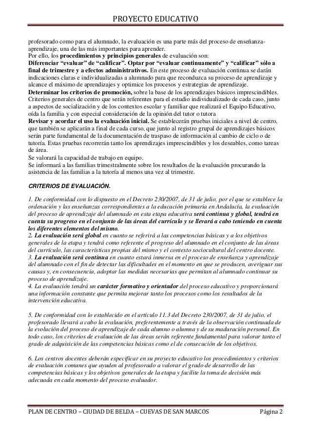 E)criterios de promocion alumnado Slide 2