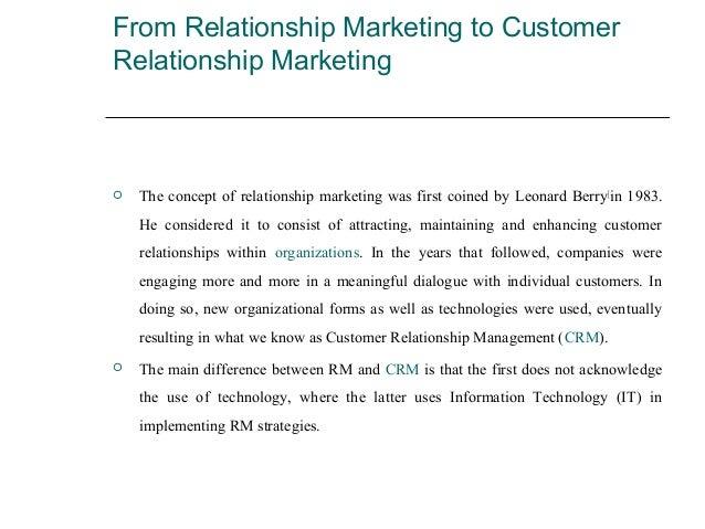 leonard berry relationship marketing articles