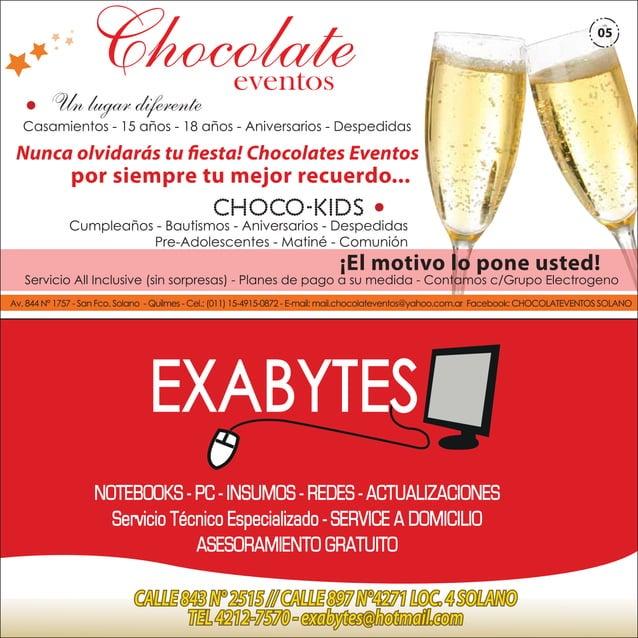 Chocolate  Un lugar diferente  05  eventos  Casamientos - 15 años - 18 años - Aniversarios - Despedidas  Nunca olvidarás t...