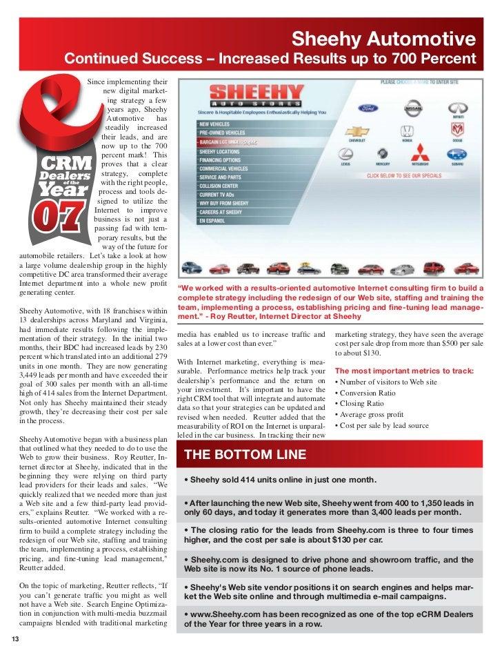 Ecrm Chevrolet Dealer Of Year