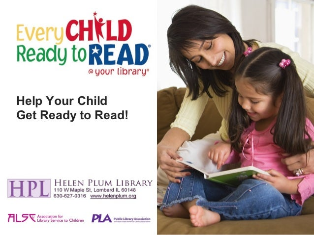 Help Your ChildGet Ready to Read!
