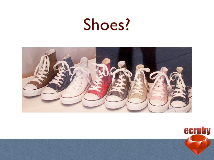 Make GUI Apps with Shoes Slide 2