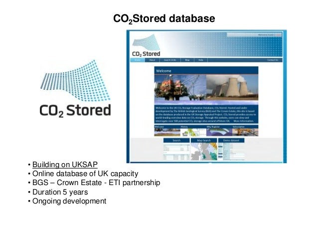 Eti Property Development : Carbon dioxide storage a uk perspective andy chadwick