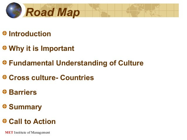 An overview of the cross cultural barriers in international marketing