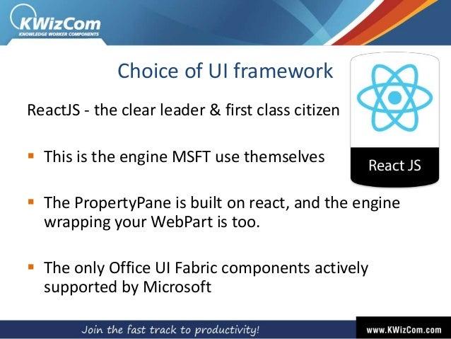 Patel] SPFx: An ISV Insight into latest Microsoft's