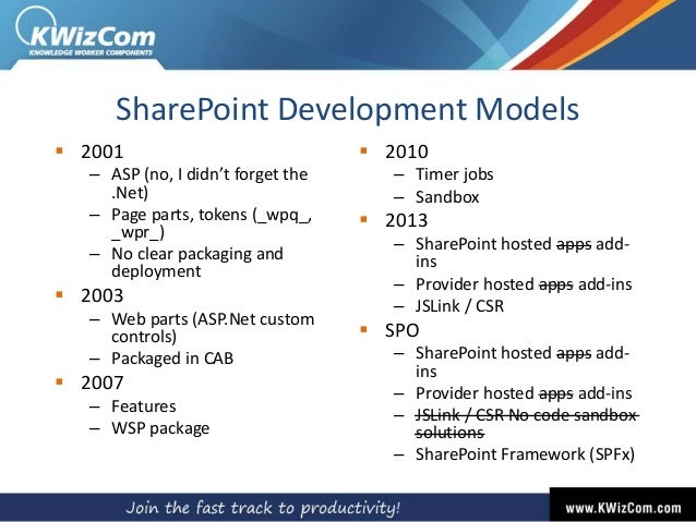 Patel] SPFx: An ISV Insight into latest Microsoft's customization mo…