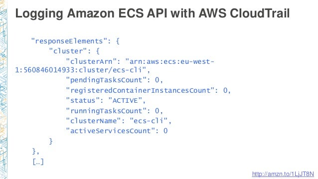 Amazon ec2 container service deep dive for Aws ecs consul