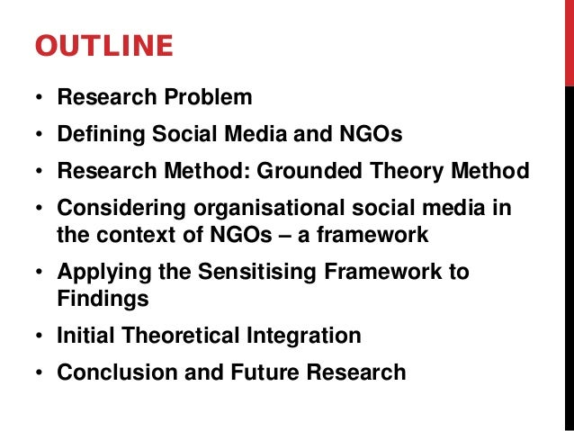 Synthesising NGOs' use of Social Media in the Context of Development Slide 2