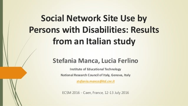 Foreign studies in social network site