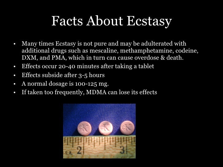 essay about ecstasy