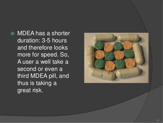 an analysis of ecstasy effects in users Although serotonin is important to the effects of mdma, other drugs that release   morgan's analysis of 17 studies showed that ecstasy users had a slight.