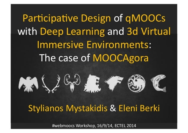 MOOCs  Game  of  the  Learning  Thrones