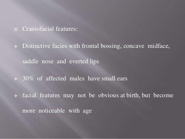 Skin biopsy :  absence or sparse sweat glands in dermis of hypothenar area  decrease no of sebaceous glands & hair folli...