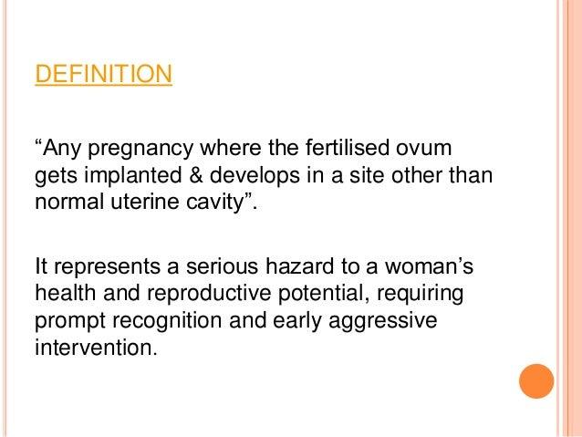 Ectopic pregnancy Slide 2