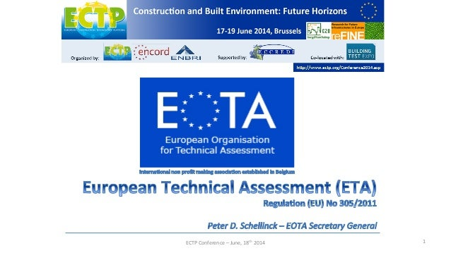 ECTP	   Conference	   –	   June,	   18th	   2014	    1