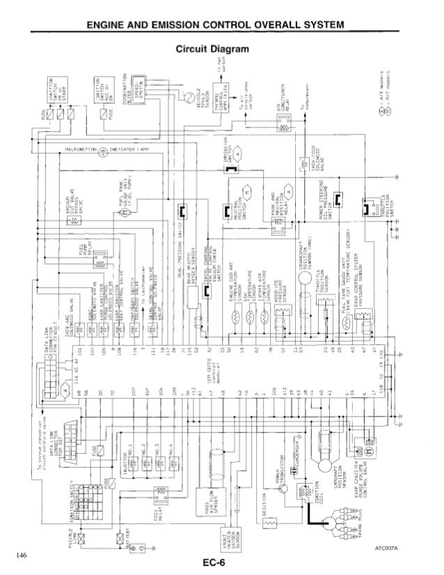 ecm,ecu nissan d21 hardbodyKa24e Ecu Wiring Diagram #15