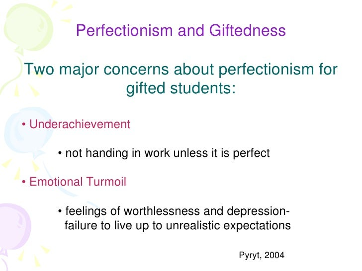 Perfectionism: Blessing or Burden?