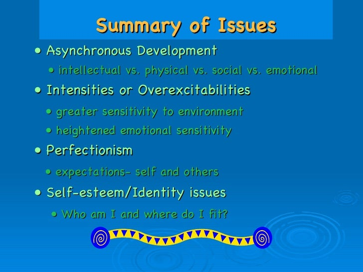 Emotional social issues and Social