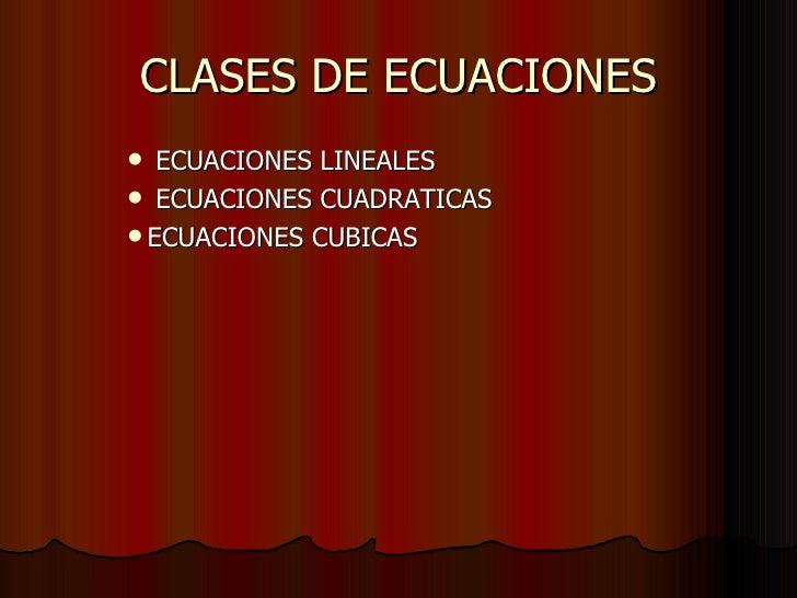 Ecuaciones Slide 2
