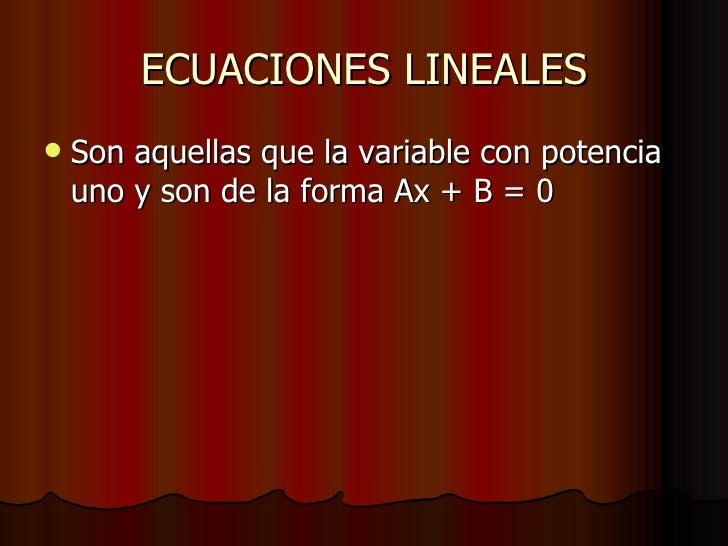 Ecuaciones Slide 3