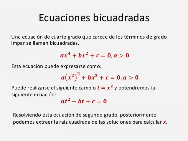 Awesome Ecuacion Cuarto Grado Pictures - Casas: Ideas, imágenes y ...