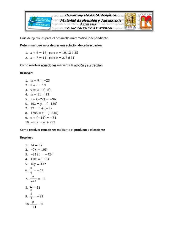 Departamento de Matemática      Supérate Supérate Supérate Supérate Supérate Supérate Supérate Supérate Supérate Supérate ...