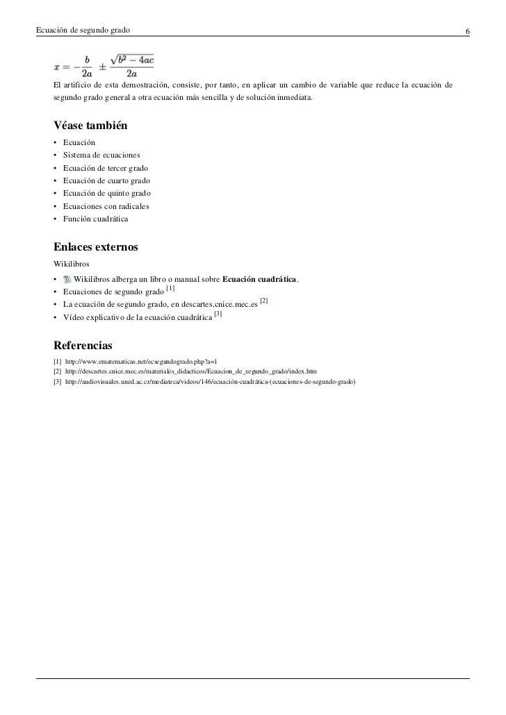 Ecuaciones cuadraticas for Ecuaciones de cuarto grado