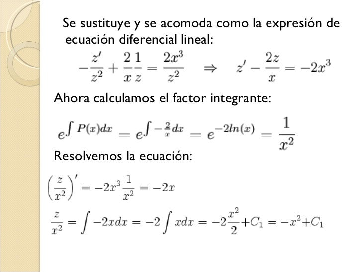Ecuaciones Diferenciales - Julioprofe