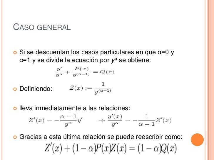 Ecuaciones diferenciales de bernuli Slide 3