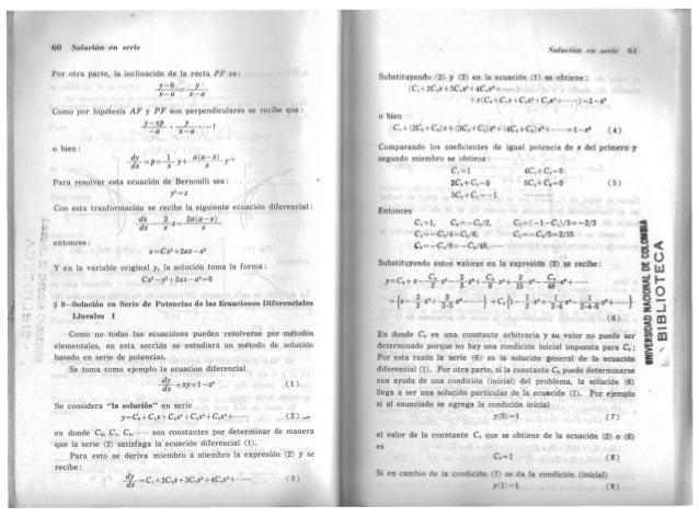 solucionario yu takeuchi ecuaciones diferenciales