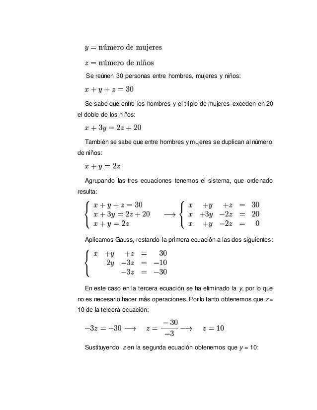 Ecuaciones lineales Slide 3